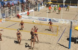 stage de beach volley adultes à Prague été 2019
